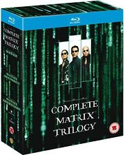 The Matrix Trilogy (Matrix + Reloaded + Revolutions) Blu-ray RegB (3 Discs)
