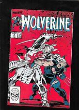 Wolverine 2 1988 SILVER SAMURAI vf-nm 9.0 FREE ship USA