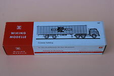 U551 Wiking modelle Ho camion 527 Sea Land Container sattelzug