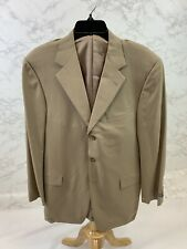 Hickey Freeman Mens Brown Three button Sport Coat Size 38R