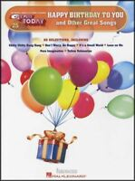 Happy Birthday To You & Other Great Songs EZ Play Today Easy Keyboard Music Book