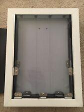 "New! SECURITY BOSS MAXSEAL PRO Dual Panel PET DOOR Large 16"" X 11"" White"