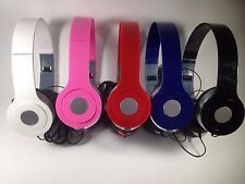 NEW OVER THE HEAD HEADSET HANDSFREE 3.5MM + MIC UNIVERSAL CELL PHONE MIXED COLOR