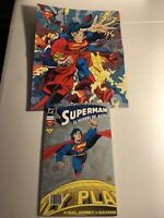 Summer 1939 Official DC Comics Cover 24x36 Wall POSTER SUPERMAN #1 POSTER