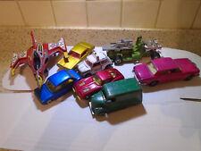 Job lot of good quality vintage toy cars dinky and corgi, matchbox + bonus