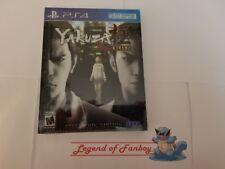 * New *  Yakuza Kiwami Steel Book - Sony PlayStation 4 ps4  * Steelbook Edition