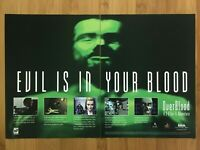 OverBlood PS1 PSX 1997 Vintage Print Ad/Poster Official Promo Art Rare