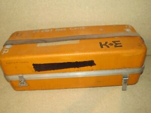 ++ CUBIC PRECISION K&E TELESCOPE CASE - CASE ONLY (CP5)