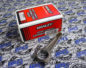 Manley Turbo Tuff I Beam Connecting Rods For Honda / Acura K24 K24A1 K24A2 K24A8