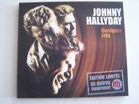 CD SINGLE DE JOHNNY HALLYDAY , QUELQUES CRIS , EDITION LIMITEE , COMME NEUF .