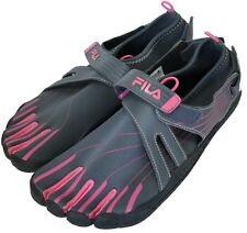Fila Womens Shoes Size-40 uk-6.5 us-9 Skele-Toes EZ Slide Barefoot used