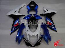 Fairing Fit for Suzuki 2011-2015 GSXR600/750 Blue Black Injection Plastic a22