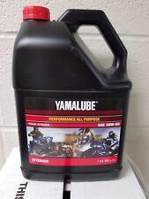 YAMALUBE 20W50 1 GALLON OF YAMAHA OIL 20 W 50 LUB-20W50-AP-04 NIB NEW YZF R