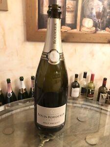 Empty Louis Roederer Brut Champagne Bottle Ideal For Display Or Crafts