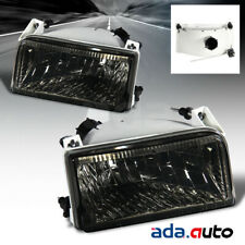 1992-1996 Ford F-150 F150/F250 [SMOKE] Factory Style Headlights Pair