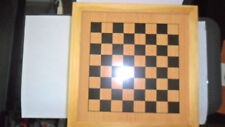 Vintage 6n1 Checkers, Chess, Backgammon, Poker, Cribbage & Dominoes  Wood Case