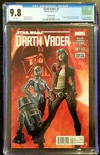 Star Wars DARTH VADER #3 2nd Print CGC 9.8 1st appearance Dr Aphra, 0-0-0 & BT-1