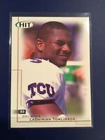2001 SAGE HIT #5 LADAINIAN TOMLINSON Rookie RC Chargers Nice Look