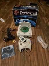 ORIGINAL BOX SEGA Dreamcast Console In 1 Controller 1 VMU WEB BROWSER *TESTED*