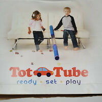 Tot Tube Playset Toy Car & Ball Tunnel Ramp Race Track