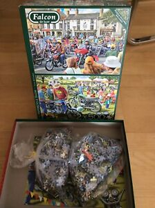 Falcon de Luxe Puzzle ~The Motorcycle Show~ 2x 500 Teile
