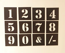 MAGNETIC Number Stencil Individual   40mm up to 200mm - Free Post