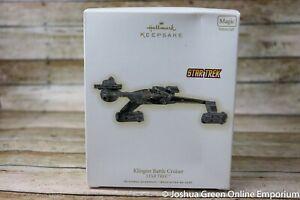 2009 Klingon Battle Cruiser Star Trek Hallmark Keepsake Ornament - Damaged Box