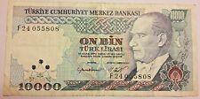TURQUIE 10000 Lire 1970 Türk Lirasi YIRMI BIN