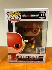 "MINT - SDCC 2019 Funko Pop! The Big Bang Theory Sheldon Cooper As ""The Flash"""