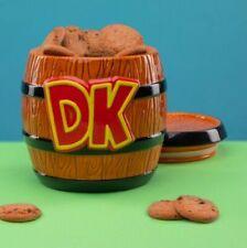 Donkey Kong Céramique Tonneau Cookie Jar Officiel Nintendo SUPER MARIO biscuit