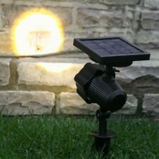 Solar Power Outdoor LED Adjustable Stake Spot Light | Garden Party Path