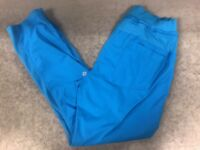 Lululemon Womens Athletic Pants Blue See Pics/description For SZ No Tag