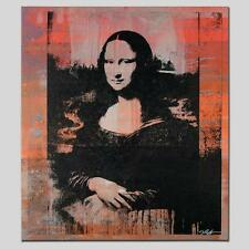 """MONA LISA"" by Gail Rodgers - One-of-a-Kind Hand-Pulled Silkscreen - Var #1"