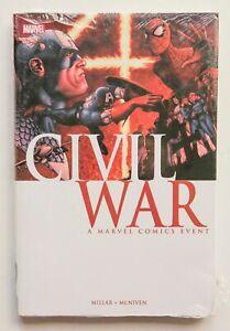 Civil War A Marvel Comics Event Hardcover Marvel Graphic Novel Comic Book