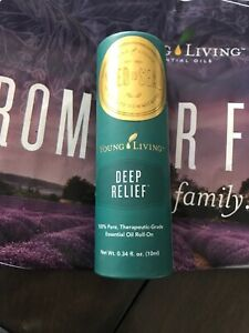 Young Living Deep Relief Roll-on Sealed Essential Oils 10ml #3534 Fast Shipping