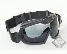FMA LPG01BK12-2R Regulator Updated Version With Fan Goggle 2 Color lens Black