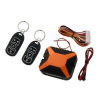 Universal Car Auto Alarm Remote Central Kit Door Lock Keyless Entry System hv2n