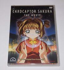 Cardcaptor Sakura: The Movie DVD - 2001 The Original Uncut Version