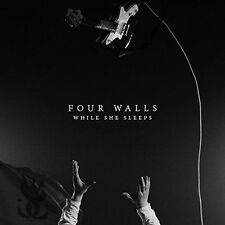 WHILE SHE SLEEPS - FOUR WALLS [SINGLE] NEW VINYL RECORD