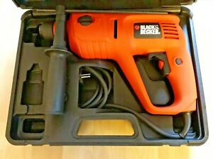 Black & Decker SDS-plus Kombihammer Bohrhammer Meißelhammer 550W +Koffer >NEU<