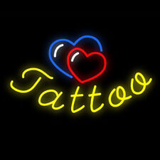 "New Tattoo Logo Neon Light Sign 19""x15"""