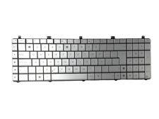 for Asus N55 N55S N55SL N55SF Latin LA Silver Laptop Keyboard Replacement