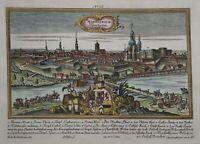 Mannheim - Manheimium. Manheim - Werner bei Engelbrecht - Original von 1740