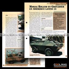#vm128.06 ★ 4X4 MOWAG ROLAND & GRENADIER (2) ★ Fiche Véhicule Militaire
