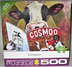 Eurographics COSMOO Art by Lucia Heffernan 500 Piece Puzzle Complete