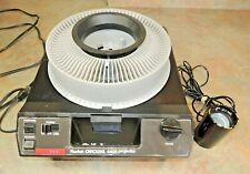 KODAK 4400 Carousel Slide Projector LENS REMOTE Tray Vintage WORKS