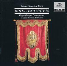 J. S. Bach Motetten Motets Regensburger Domspatzen Hanns-Martin Schneidt