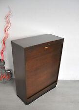EKAWERKE Rollschrank Rolladenschrank Bauhaus Art Deco Notenschrank Aktenschrank