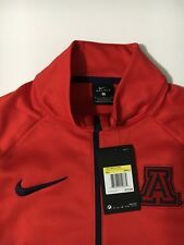 Nwt Nike Men's Arizona Collegiate , Dri-Fit Therma Top 1/4 zip, Small $75
