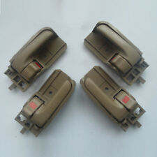 Fit Toyota Corolla inside Beige Driver Left Right Side Door Handle 03-08 4Pcs
